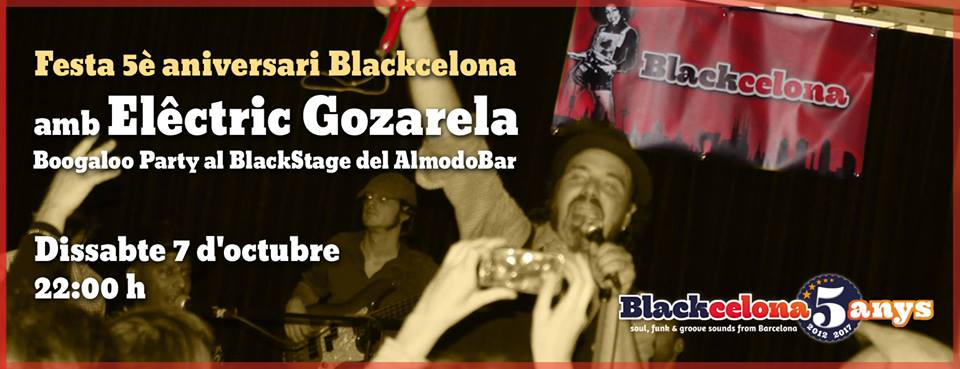 Blackcelona-BoogalooParty-ElectricGozarela
