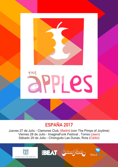 Noticia-TheApples-GiraEspaña2017