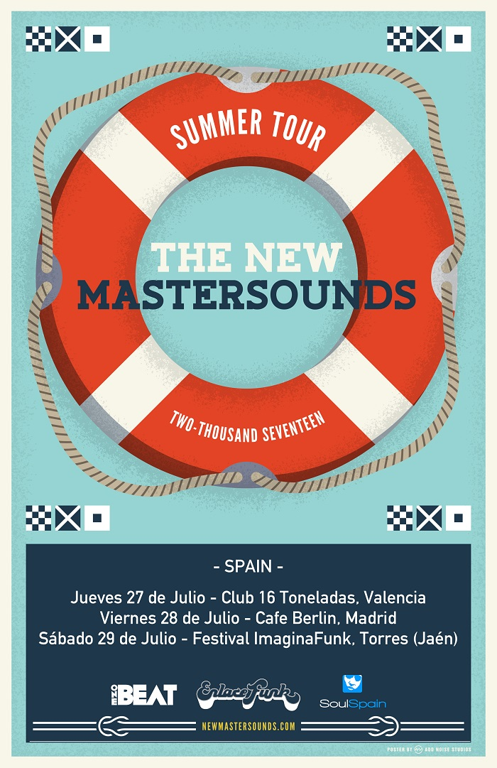 Noticia-TheNewMastersounds-GiraEspaña2017